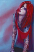 red by chouette-e