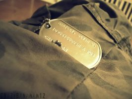 365 Project-Day 30: Dog Tag by hourglass-paperboats