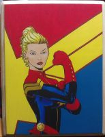 Captain Marvel by Kat-Lady04
