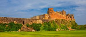 Bamburgh Castle pano by newcastlemale