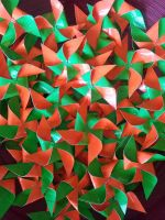 duct tape pinwheels by Coall