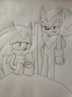 Sonadow Drawing by FiveNightsAtFoxys