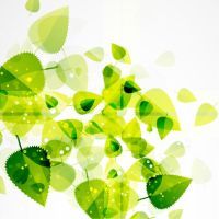 Abstract-Green-Leaves by vectorbackgrounds