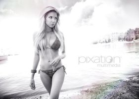 Natacha by the water by pixation