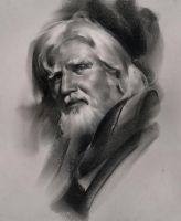 Portrait in Charcoal. by NathanFowkesArt