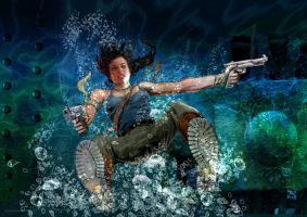 Lara Croft Splash by 888toto