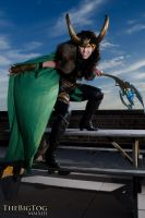 Lady Loki Takes Manhattan by JustBetsyCostumes