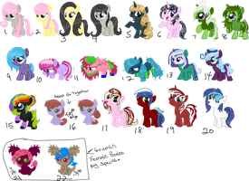 Left Over Adopts (Closed) by Arianstar