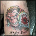 Hartlepool United F.C. by Reddogtattoo