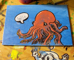 that one octopus by Robotaholic