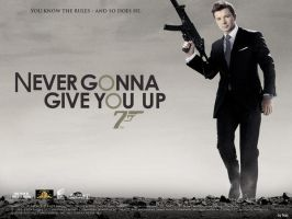 007: Never Gonna Give You Up by Gleis