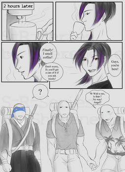 Shredder-Raph-Series: Chapter 2 Page 1 by Sherenelle