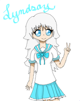 Lyndsay .:Contest Entry:. by Rin-luver