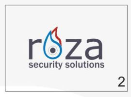 Roza Security Logo 2 by HalitYesil