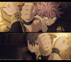 Fairy Tail 524 Clash Of Fists by IITheYahikoDarkII