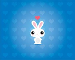Rabbit Wallpaper by chicastecnologicas21