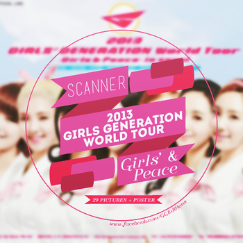SCANNERS 2013 GG World Tour Girl and Peace by GGWonderfulDesign