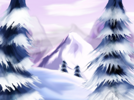 Winter - Landscape by PerpetualStudios