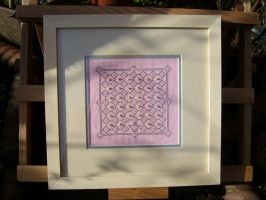 Pink and Silver by HypotheticalTextiles