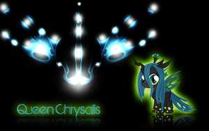 Young Queen Chrysalis Wallpaper by Arakareeis