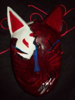 Horror Kitsune Mask Complete by Ultimaknight333