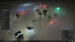 Night-Fog-Toranto Waldorf 20121015 by vrkalak
