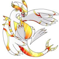 Golden Lugia by kari10001