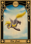Pony Tarot Cards: Derpy the Fool by SouthParkTaoist