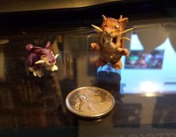 Rattata evolution set by cheese-puff82