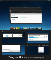 Deepin Theme Windows 8.1(Update) by Cleodesktop