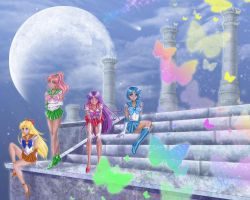 Sailor Senshi by SChappell