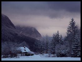 bohinj mountains by neronin