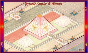 Pyramid Complex at Seneferu by Taures-15