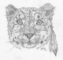 snowleopard by NepiCanis