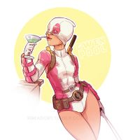 GwenPool by ribkaDory