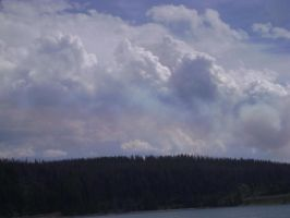 Skies over Yellowstone by MidknightStarr
