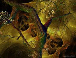 Tree upon Fractal by Jellaboom
