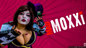 I kiss and tell- Mad Moxxi Cosplay by AlyChuCosplay
