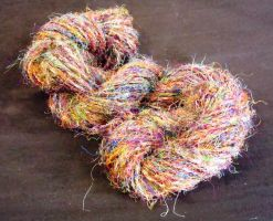 Wild Skein Recycled Silk by flufdrax