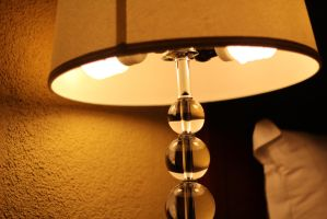 Wall to Lamp by AtomicBrownie