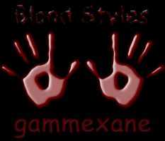 Blood Style by gammexane