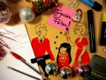 Office Christmas by Jasrah