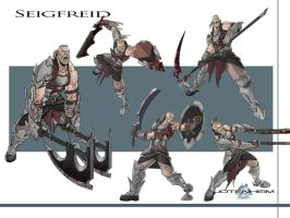 Seigfried Concept Art 2 by DanGlasl