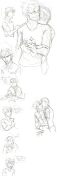 Hannigram Sketchdump by jack-o-lantern12