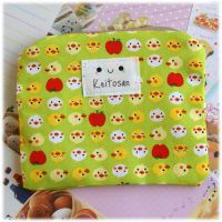 Chicks and Apples Pouch by Keito-San
