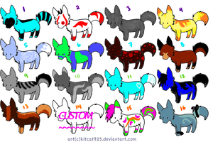 Canine adoptables :OPEN: by Jamie901