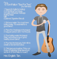 A Tom Felton Tea For Two by Rotae