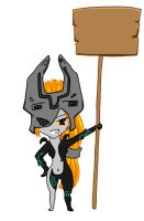 Little Midna by Zelda-Vampiress