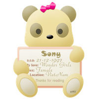 My first ID by Sony2112