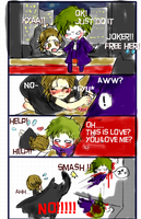 Joker's love by pink-snow